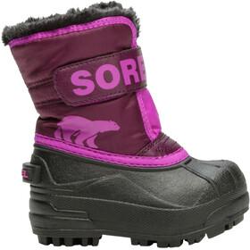 Sorel Snow Commander Boots Toddler purple dahlia/groovy pink